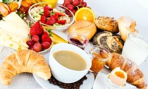 Flamme & Feuer American Diner: Sonntags-Frühstücksbuffet für Zwei oder Vier mit Kaffee im Feuer & Flamme American Diner ab 14,90 € (bis zu 57% sparen*)