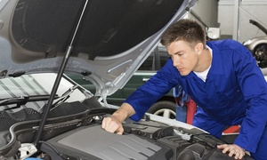 United Auto Services: Automotive Service Package at United Auto Services (Up to 79% Off). Three Options Available.