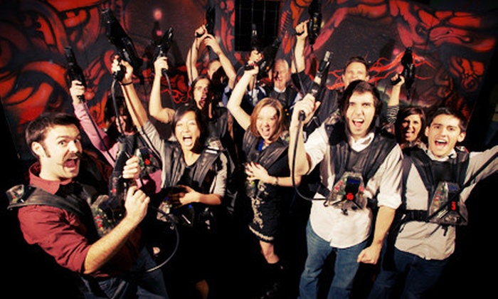 Stratum Laser Tag - Mesa: Three Hours of Unlimited Laser Tag for One or Four at Stratum Laser Tag (Up to 57% Off)
