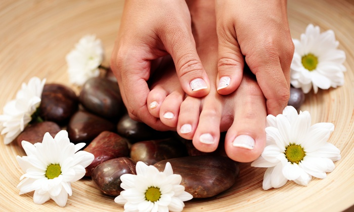 Body, Mind, & Spirit Med Spa - Statesville: $31 for a Manicure and Pedicure ($70 Value)