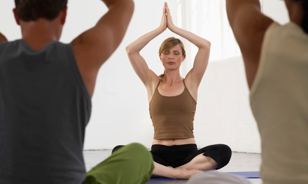 5 or 10 Drop-In Yoga Classes at Heart of Yoga (Up to 69% Off)