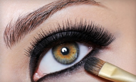 Black or Mink Eyelash Extensions with Optional Refill at 4Ever Nails & Salon (Up to 77% Off)
