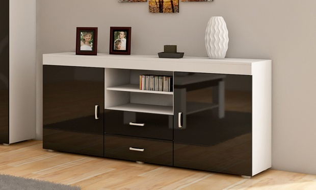 meubles de salon groupon. Black Bedroom Furniture Sets. Home Design Ideas