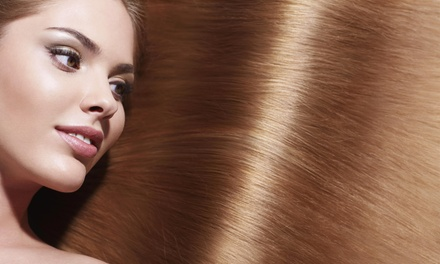 Up to 51% Off Brazilian Blowout or Highlights at Hair by Sherri at Serenity Salon Suites