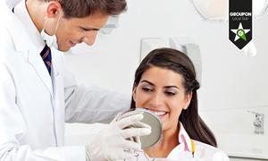 Dental Swiss: Visita odontoiatrica, pulizia denti, smacchiamento airflow e sbiancamento LED