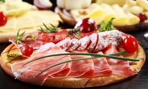 Bistrot Piazza Ferrara: Apericena con 8 assaggi, primo e calice di vino per 2 o 4 persone da Bistrot Piazza Ferrara (sconto fino a 66%)
