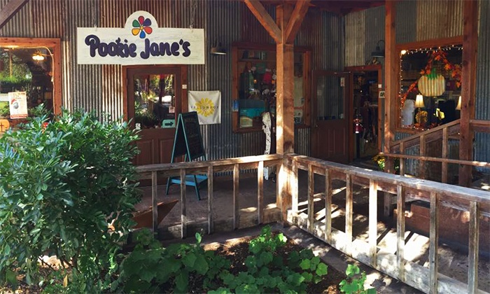 Pookie Jane's Boutique - Historic Gruene: $65 for Two Gift Cards, Each Good for $50 Worth of Apparel and Home Accents at Pookie Jane's Boutique ($100 Total Value)