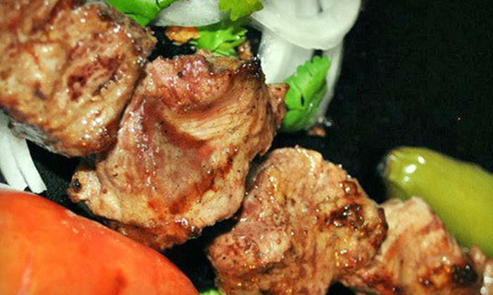 Kabob Korner - Houston: Casual Indian Food at Kabob Korner (Half Off). Two Options Available.