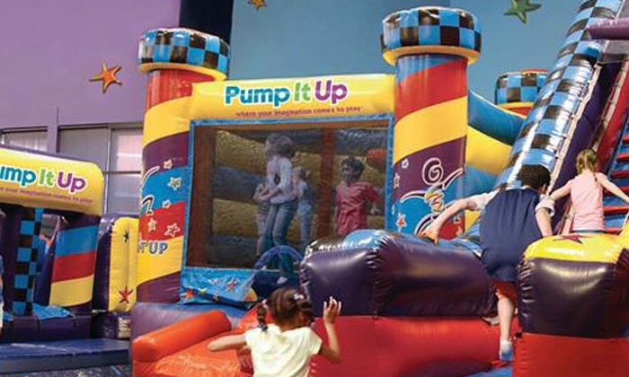Pump It Up of Omaha - Central Omaha: Camp for One or Two or a Season Pass for One at Pump It Up of Omaha (Up to 51% Off)
