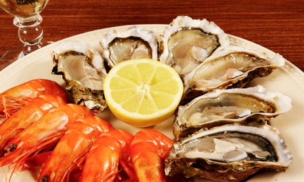 $49.90 for AllYouCanEat Seafood Buffet for One Person at Baygarden Restaurant Up to $79 Value