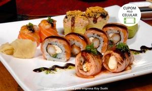 Koy Sushi: Rodízio japonês com sobremesa para 1, 2 ou 4 pessoas no Koy Sushi – Boa Viagem