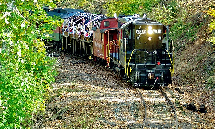 The Colebrookdale Railroad - Boyertown: $39 for Mother's Day Train Ride for One Child and One Adult from The Colebrookdale Railroad ($52 Value)