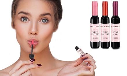 Wasserabweisendes Lipgloss im Weinflasche-Design in Pink, Rot oder Violett (Berlin)