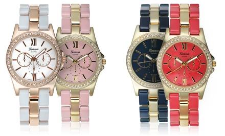 Geneva Platinum Ticino Collection Women's Watch