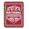 Alabama Crimson Tide 2015 National Champions Tapestry Throw