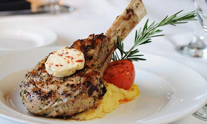 Marlowe Restaurant and Wine Bar - Beaver Creek Business Park: C$79 for a Four-Course Upscale Dinner with Wine for Two at Marlowe Restaurant and Wine Bar (Up to C$160.60 Value)