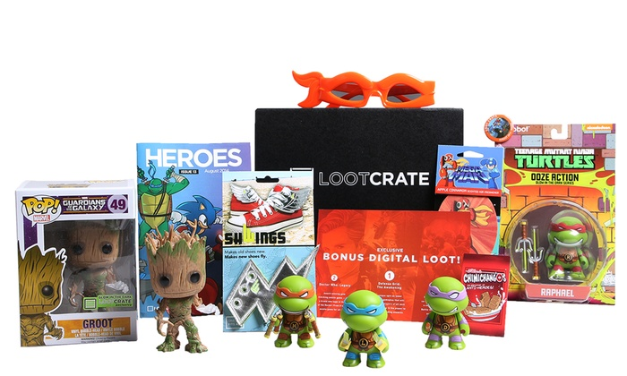 Loot Crate: $10 for a One-Month Subscription to Loot Crate ($19.37 Value)