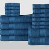 Economic Collection 100% Cotton Towel Set (24pc.)