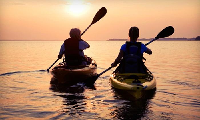 2K Adventure Gear - Richmond: $39 for a Half-Day Kayak Trip on Elizabeth Lake from 2K Adventure Gear ($84 Value)