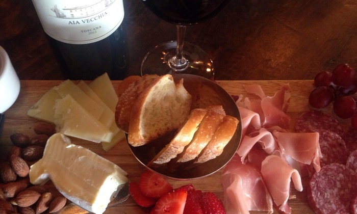 The Wine Loft  - Carlsbad: $28 for Wine and Appetizers for Two at The Wine Loft (Up to $48 Value)