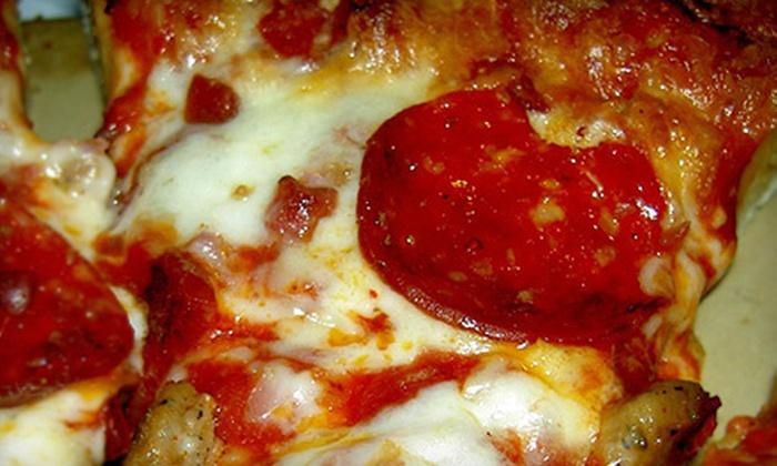 Penn Pizza Restaurant - Multiple Locations: $15 for $30 Worth of Pizza and Pasta at Penn Pizza Restaurant