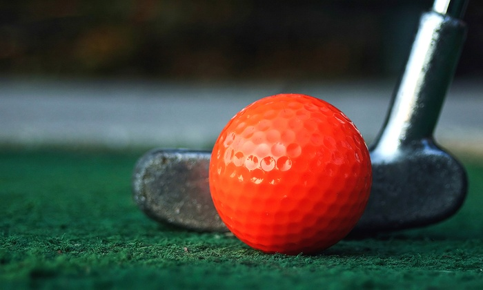 Capital Golf Center - Wake Forest: Mini Golf and Soft Drinks for Two or Four at Capital Golf Center (Up to 51% Off)