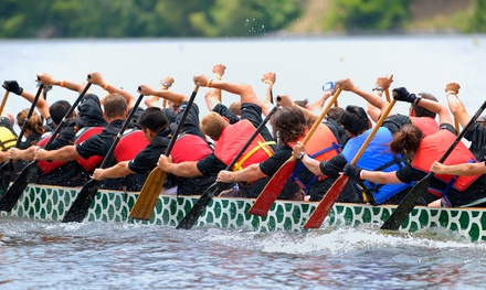 Greenhorn Dragon Boat Training and Adult or Youth Race Package from Fairway Gorge Paddling Club (60% Off)