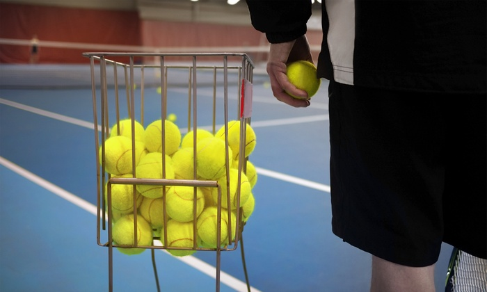 Advantage Tennis LLC - West Windsor: Five or Ten Hours of Reserved Tennis Court Time at Advantage Tennis, Up to 50% Off