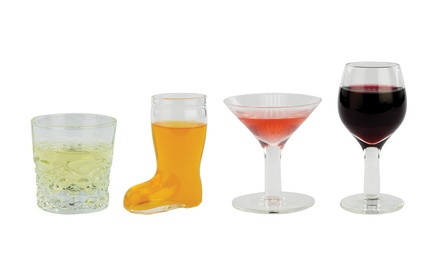 Mini Cocktail Shot Glasses; 4, 8, or 16 Glasses