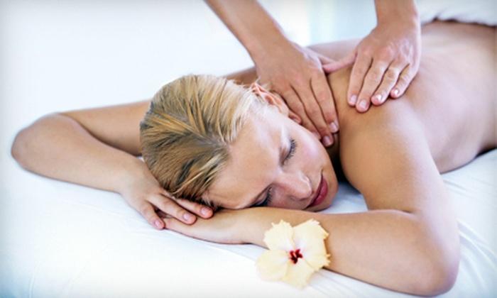 Jolie-Time Therapeutic Massage - Multiple Locations: $49 for 50-Minute Therapeutic Massage with Aromatherapy at Jolie-Time Therapeutic Massage ($110 Value)
