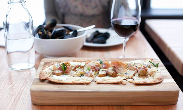 Lot 2 Restaurant and Wine Bar - Benson: $34 for $50 Worth of Upscale Dinner Cuisine at Lot 2 Restaurant and Wine Bar