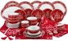 Waterside 50-Piece Christmas in a Box Red Festive Script