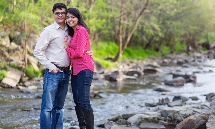 Charlotte Vibe Photography - Charlotte: On-Location Portrait Package or Engagement Package from CharlotteVibe Photography (Up to 83% Off)