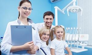 EUGENIE: Visita, pulizia denti, Air Flow, otturazione e sbiancamento LED per adulti e bambini da Eugenie (sconto fino a 89%)