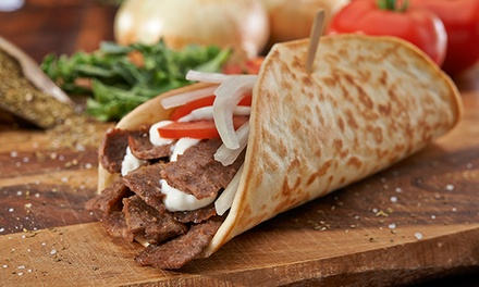 $15 for $20 Worth of Casual Mediterranean Cuisine at Olga's Kitchen