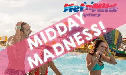 Deals on wet and wild tickets