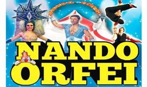 NANDORFEI: Biglietti per lo spettacolo circense del Circo Nando Orfei dal 29 gennaio al 28 febbraio a Milano (sconto fino a 68%)