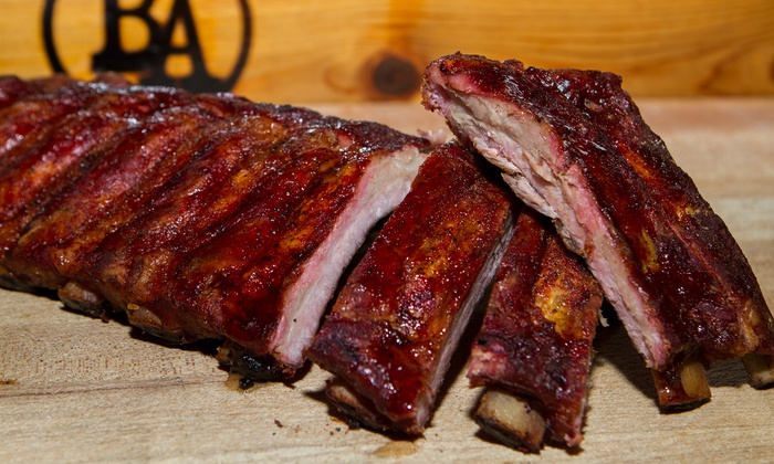 BA Texas BBQ - BA Texas BBQ: Barbecue Lunch for One or Dinner for Two or Four at BA Texas BBQ (Up to 42% Off)