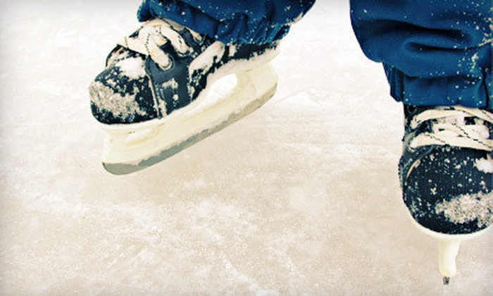 KCIce - Kansas City: Ice Skating with Skates for Two, Four, or Six at KCIce (Up to 53% Off)