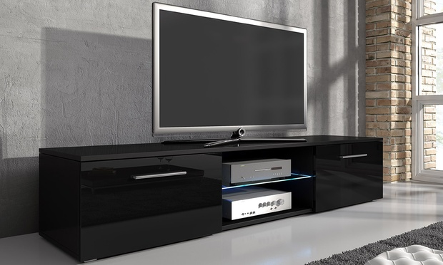 meuble tv groupon. Black Bedroom Furniture Sets. Home Design Ideas