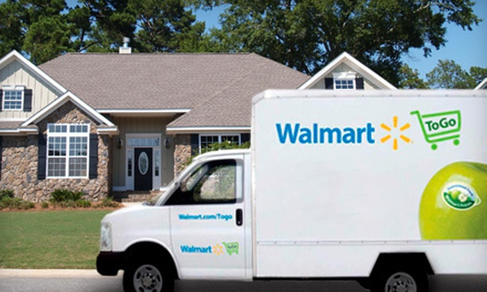 Walmart To Go: $49 for a $98.98 Value from Walmart To Go, Including $49 in Groceries and Six Months of Delivery ($49.98 Value)