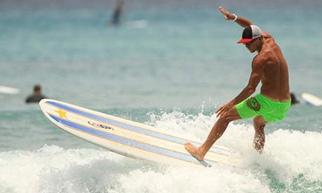 Group Surfing Lesson for One or Two at Star Beachboys (Up to 34% Off)