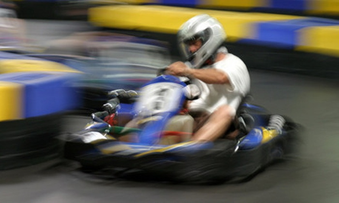 Speedworld - St. James Industrial: Two Sprint-Car or Race-Kart Races at Speedworld (Up to 56% Off)