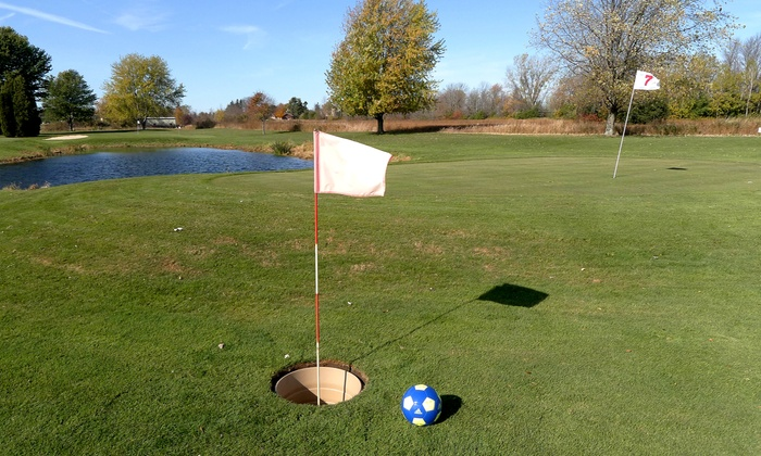 Baehmann's Golf Center - Baehmann's Golf Center: Nine-Hole Round of FootGolf for Two, Four, Six, or Eight at Baehmann's Golf Center (50% Off)