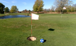 Baehmann's Golf Center: Nine-Hole Round of FootGolf for Two, Four, Six, or Eight at Baehmann's Golf Center (50% Off)