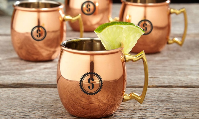 moscow mule time for four customized miniature moscowmule mugs from moscow mule