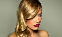 Cut, Blow-Dry and Conditioning with Optional Full Head of Colour or Half Head of Highlights at Studio 34 (Up to 56% Off)