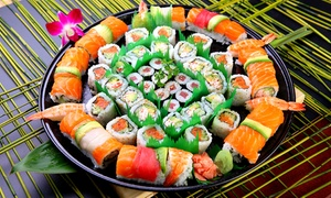 SU-SU SUSHI: $29 for 56-Piece Sushi Platter or $35 for 58-Piece Brown Rice + Quinoa Sushi Platter from SU-SU SUSHI (Up to $72 Value)
