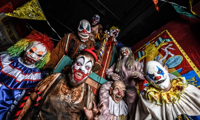 Massacre Haunted House - Montgomery: Entry for One, Two, or Four to the Massacre Haunted House and Fear Factory 3D (Up to 47% Off)