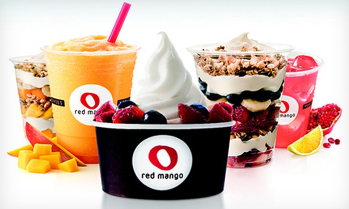 Red Mango - Stanford University: $12 for a Five-Visit Punch Card Worth $5 Toward Frozen Treats on Each Visit at Red Mango ($25 Total Value)
